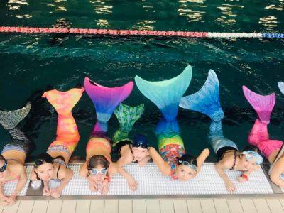 pływanie w syrenim ogonie aqua aga nurkowanie toruń